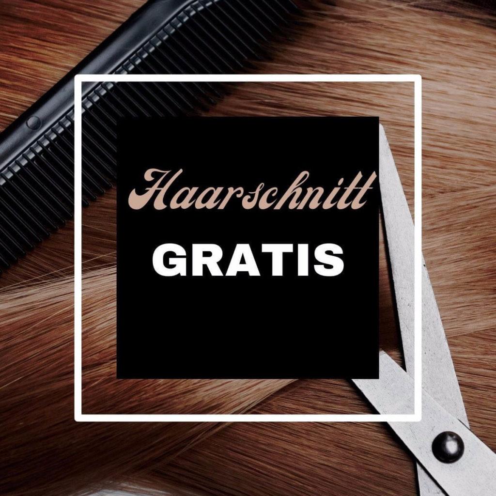 Haarschnitt gratis bei 6 mal